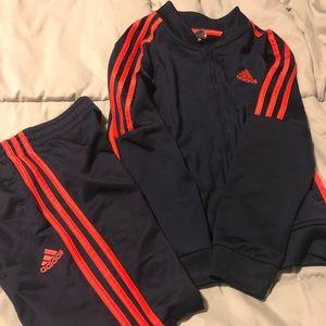 Boys Adidas track suit